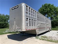 2003 Wilson PSDCL-402 T/A Livestock Trailer
