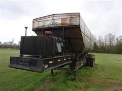 2000 K B H 25 Ton T/A Fertilizer Tender Trailer