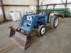 1982 Ford 1900 Compact Utility Tractor W/Loader