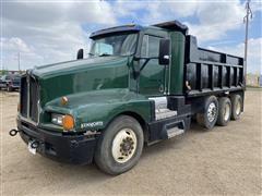 1990 Kenworth T660 Tri/A Dump Truck