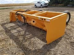 2020 Industrias America 12F Tilt Box Scraper