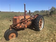 1949 Case DC 2WD Tractor & Sickle Mowers
