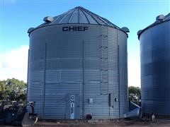 Chief Grain Bin W/Caldwell Dryer System