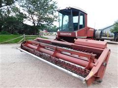 Hesston 6450 Windrower