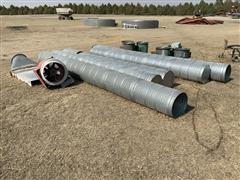 Circle Steel Dryer Fans & Tubes