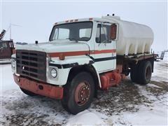 1986 International 1955 Flatbed Truck W/Tank