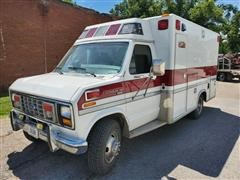 1990 Ford E350XL Diesel Ambulance