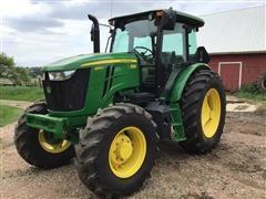 2016 John Deere 6105E MFWD Tractor