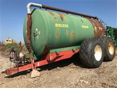 Balzer MS75SHT30SSTB T/A 7500 Gallon Water Wagon