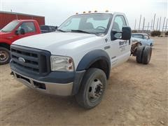 2007 Ford F-550 Cab And Chassis