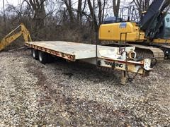2013 Trail King TK40 T/A Flatbed Trailer