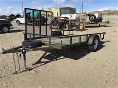 2002 Carry-On 6' X 12' Side-Load Utility Trailer