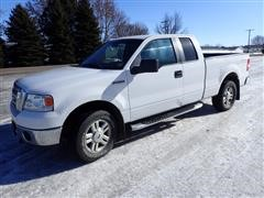2008 Ford F150 XLT 4x4 Extended Cab Short Box Pickup