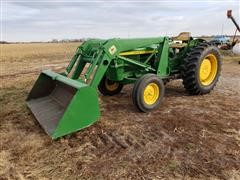 1974 John Deere 1530 2WD Tractor With Loader