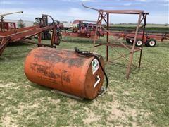 300-Gal Steel Fuel Tank W/Stand