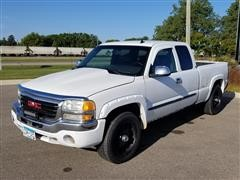 2006 GMC 1500 SLT 2WD Extended Cab Pickup