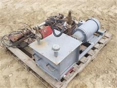 Hydraulic Squeeze Chute Pump & Motor