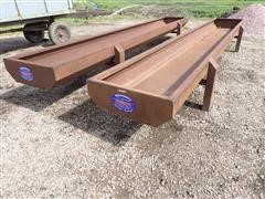 Forever Products 20' Steel Feed Bunks