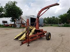 Sperry New Holland 717 2 Row Narrow Forage Harvester