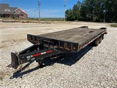 2008 Felling FT-18-2 T/A Flatbed Trailer