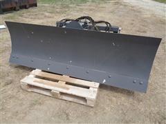 Lackender 6-Way Skid Steer Dozer Blade