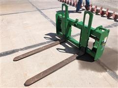 John Deere 673 Pallet Fork Attachment