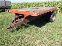Omaha Standard 8' X10' S/A Flatbed Trailer