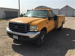 2002 Ford F550 2WD Service Truck