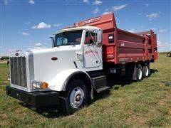 2001 Peterbilt 378 T/A Manure Truck