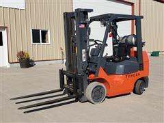 Toyota 7FGCU25 5,000 Lb. Capacity Forklift