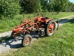 Allis-Chalmers G Tractor W/Cultivator
