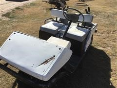 Cushman 3-Wheeled Golf Cart