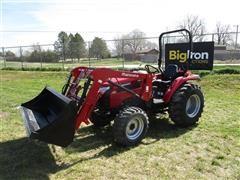 2016 Mahindra 2538HST MFWA Tractor W/Loader & Bucket