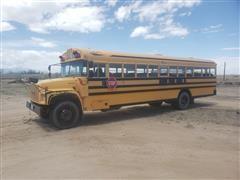 2000 GMC Blue Bird School Bus
