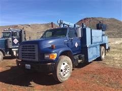 1999 Ford F-Series Service Truck With Crane