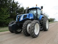 2011 New Holland T8.390 MFWD Tractor