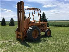 Case 580CK 2WD Forklift