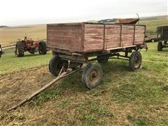 Wooden Grain Wagon