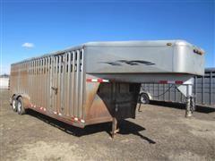 2000 Trailman Livestock Trailer