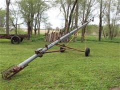 "Hutchinson 6""X41' Auger On 2-Wheel Carrier"