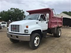 1997 GMC C7500 S/A Dump Truck