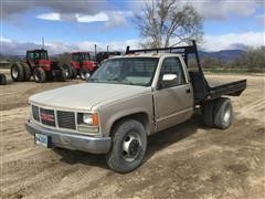 1990 GMC 3500 Flatbed Pickup