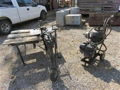 2013 Shop Built Portable Hydraulic Unit & Log Splitter
