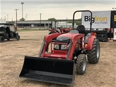2016 Mahindra 15384FHIL Compact Utility Tractor W/Loader