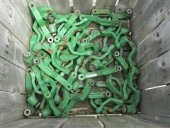 John Deere Planter Gauge Wheel Brackets w/Bearings