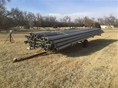 Irrigation Pipe & Fittings W/ Dolly
