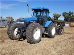 New Holland TV140 Bi-Directional 4WD Loader Tractor