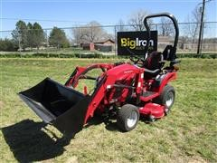 2017 Mahindra EX20S4FHTLM EMax 20S MFWA Compact Tractor W/Loader & Mower