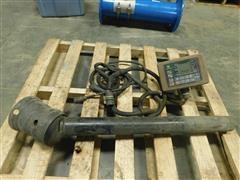 John Deere 567 Round Bale Monitor & PTO Shaft