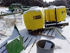 Top Air 300 Gallon Saddle Tanks